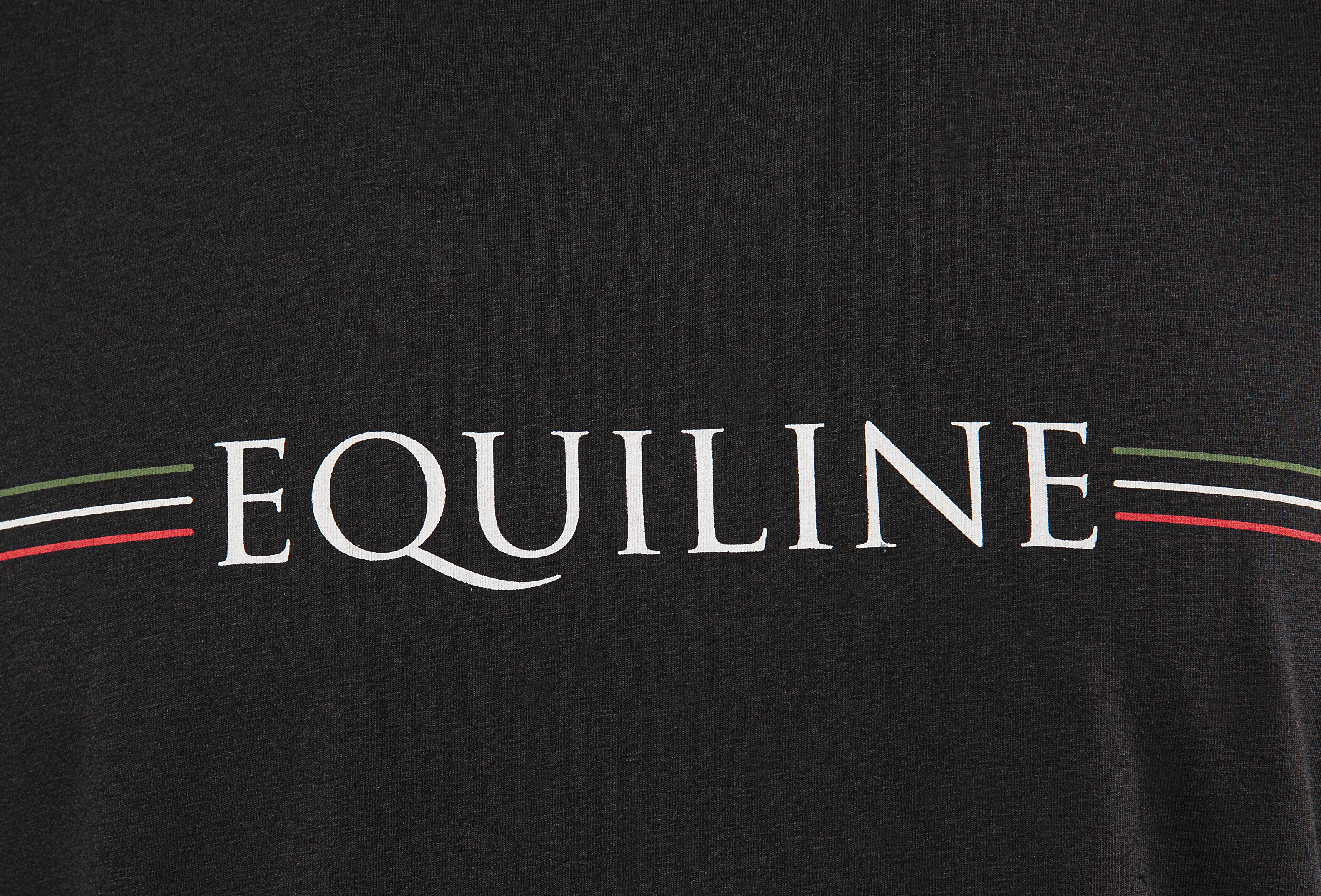 MEN'S T-SHIRT WITH EQUILINE STRIPE LOGO 2