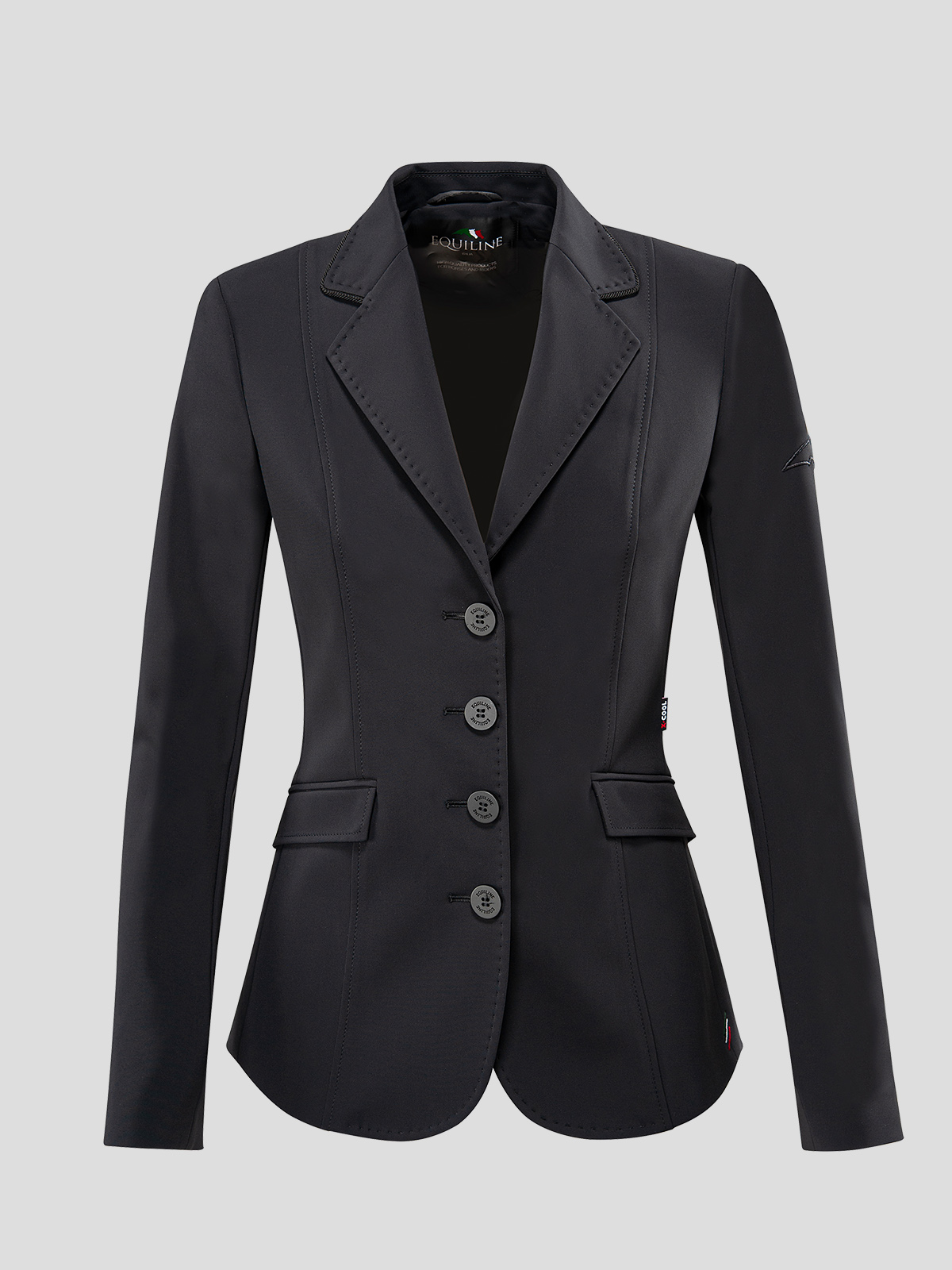WOMEN'S SHOW JACKET WITH OUTLINE LOGO IN X-COOL 6