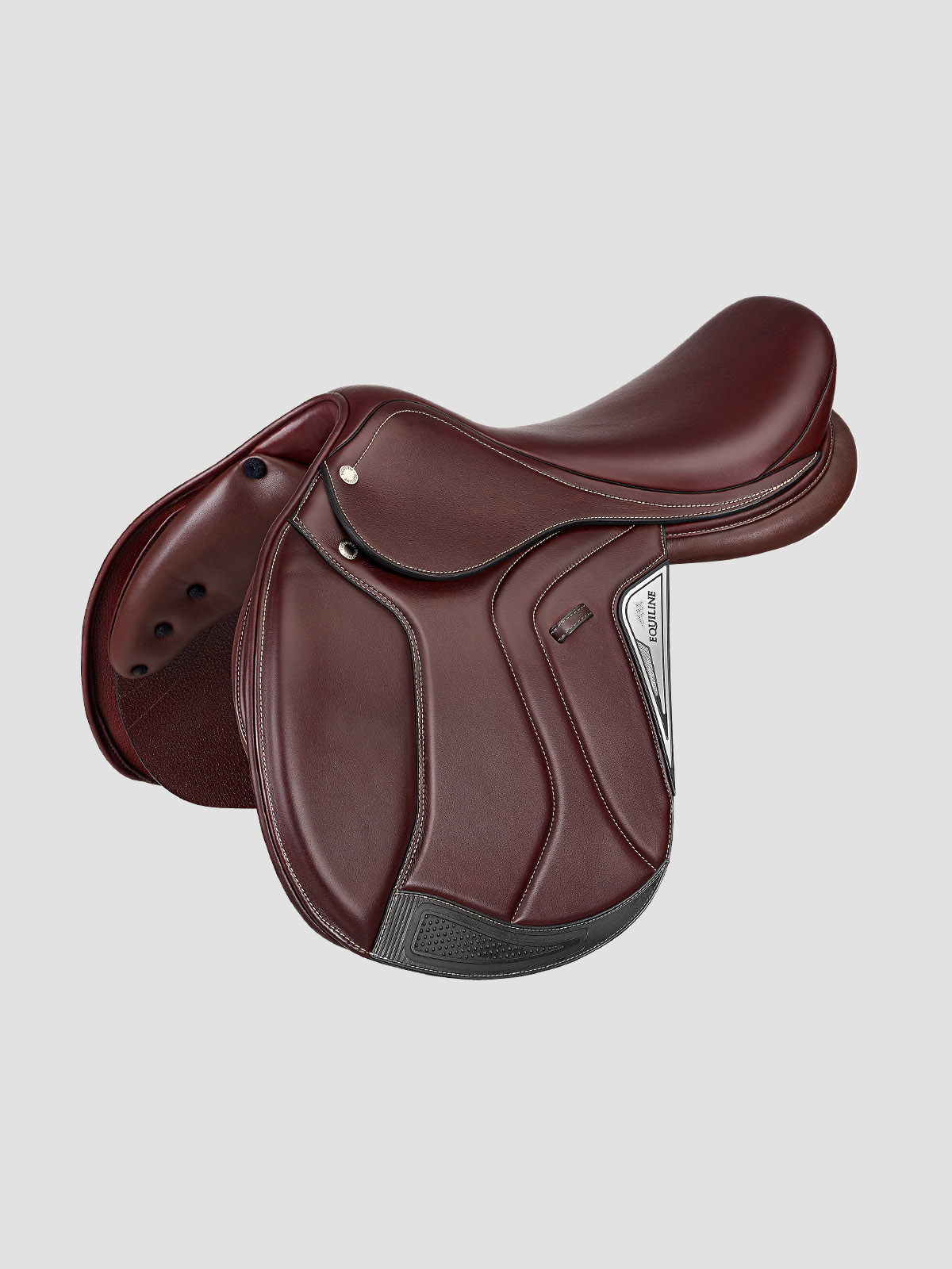Equiline American Jumper Saddle in brown