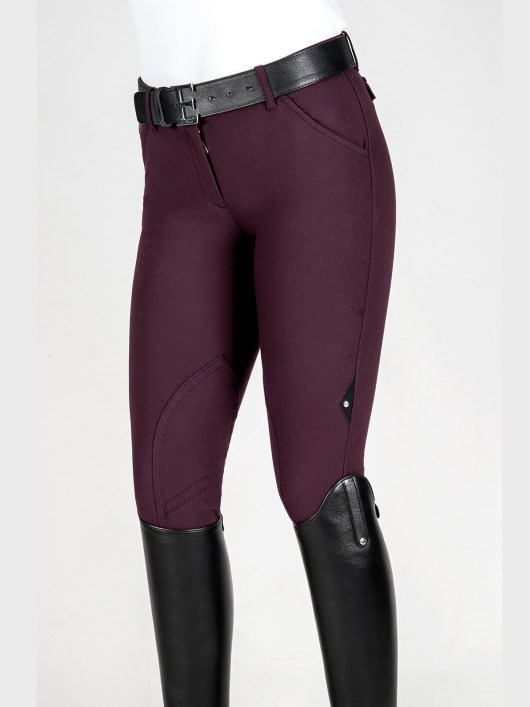 WOMEN'S KNEE PATCH BREECHES IN SCHOELLER STRETCH FABRIC 1