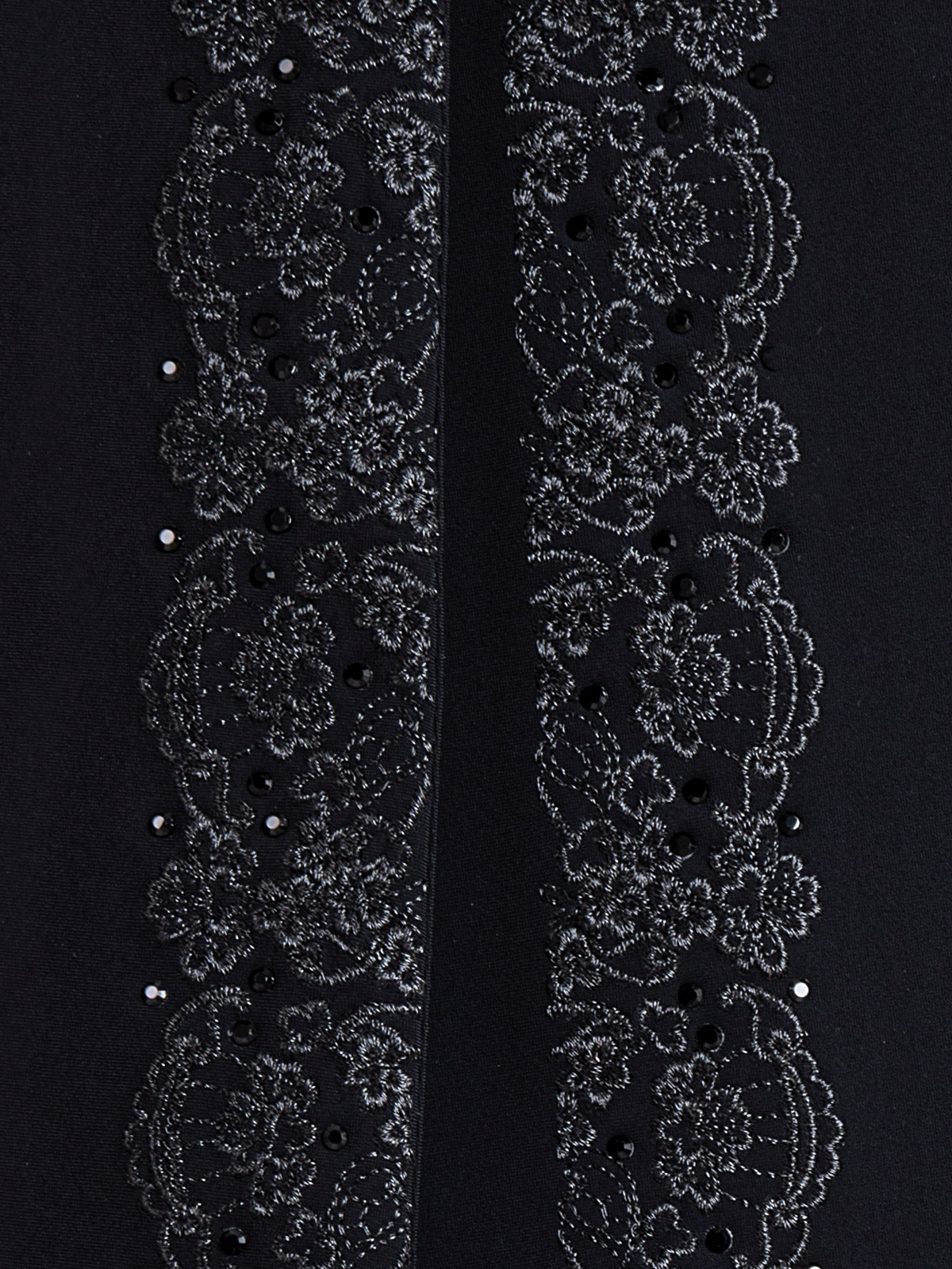 GREM WOMEN'S TAILCOAT WITH LACE EMBROIDERY DETAILS 5