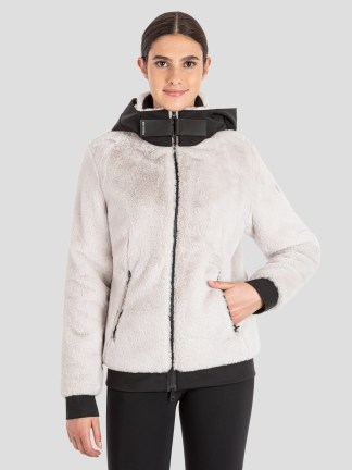 CALEXICO WOMEN'S FAUX FUR JACKET WITH HOOD
