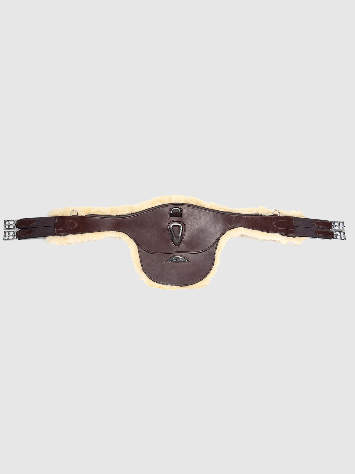 Belly Guard Girth with Sheepskin Lining 2
