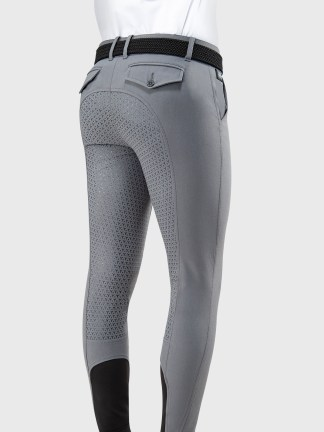 EMERALD MEN'S FULL SEAT BREECHES WITH GRIP