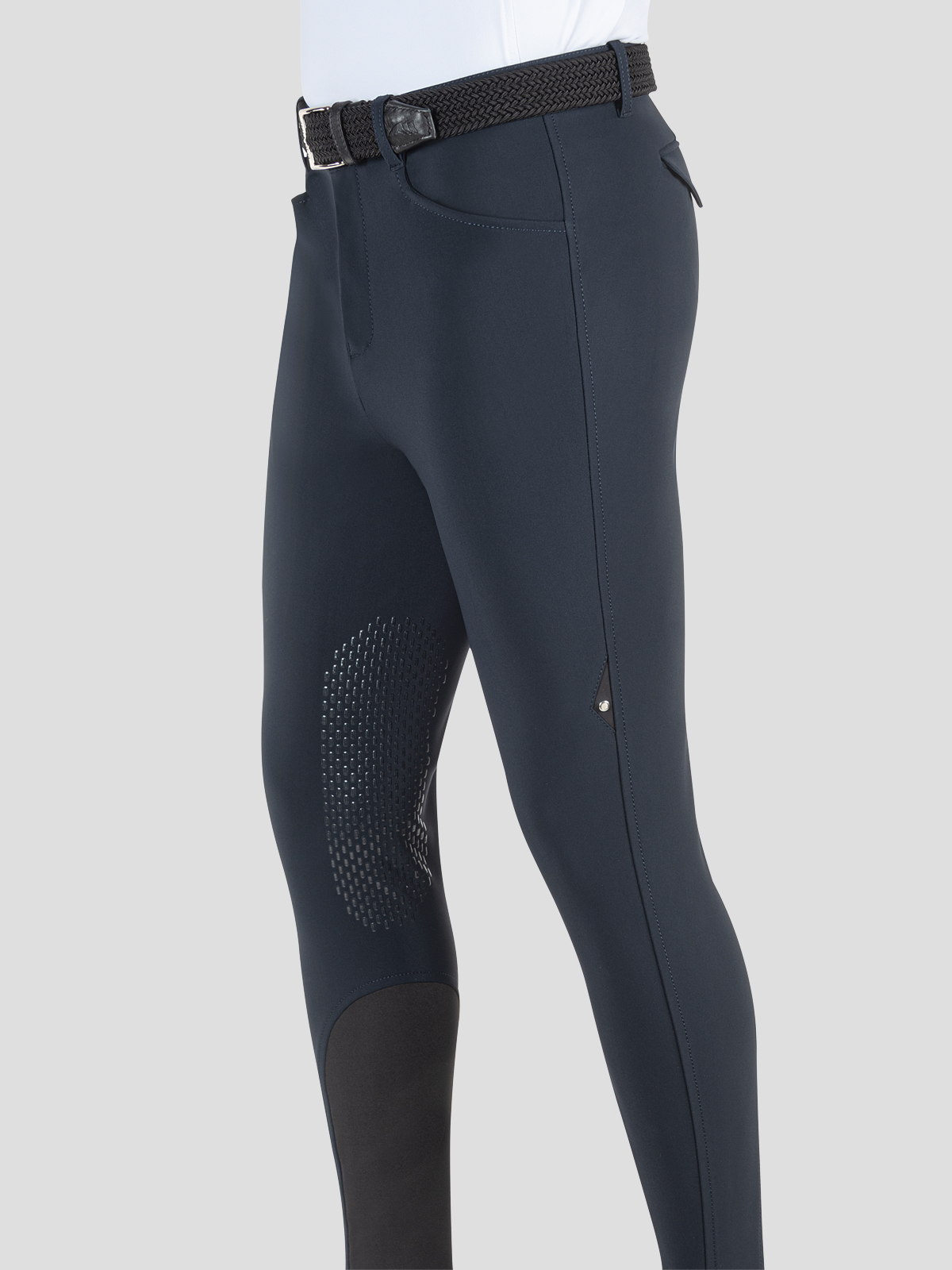 ALBERTK MEN'S RELAXED FIT KNEE GRIP RIDING BREECHES IN B-MOVE 1