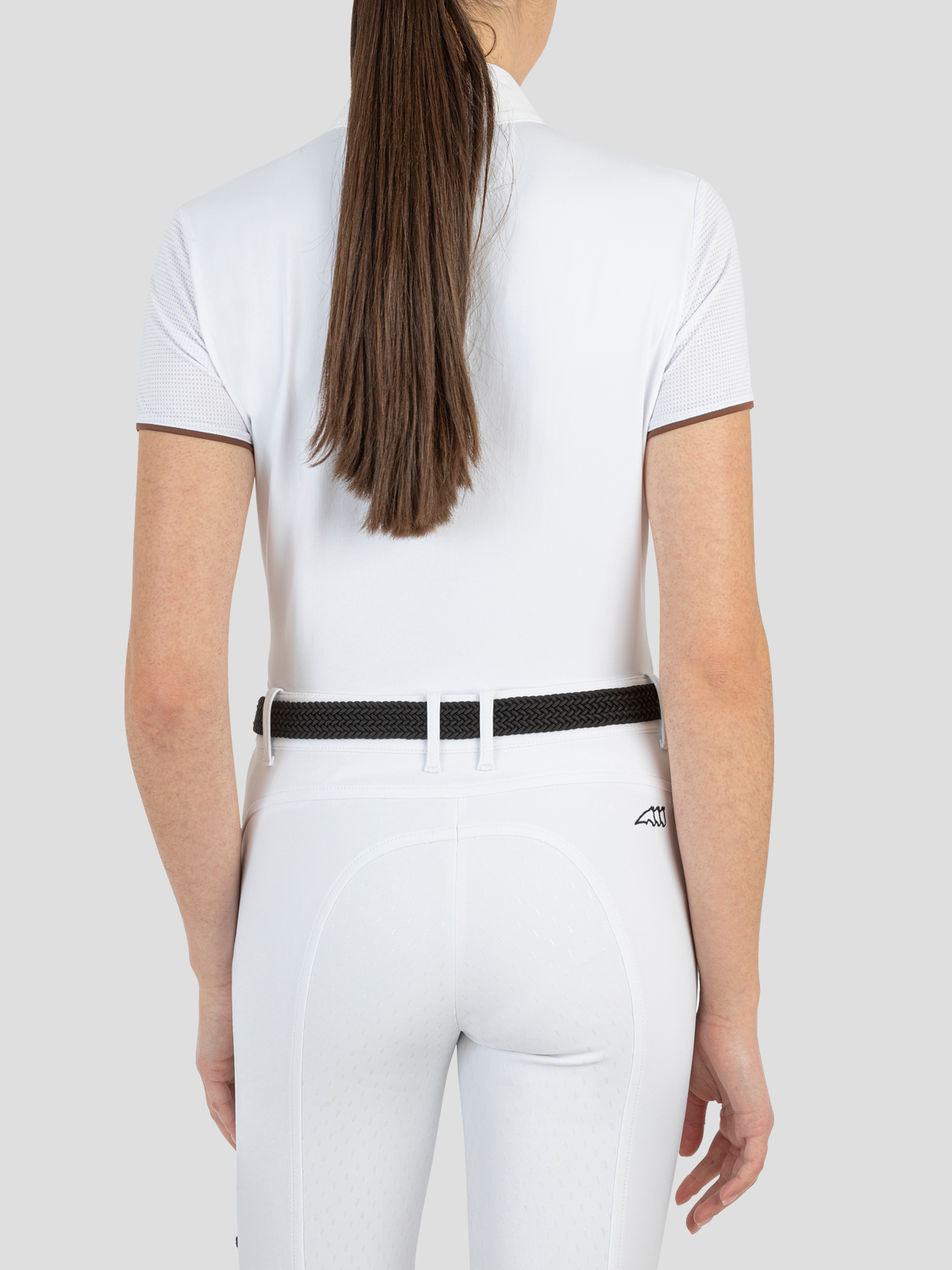 CORDA C WOMEN'S SHOW SHIRT WITH SHORT SLEEVES AND ZIP 3