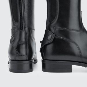 CLASSIC | Laced Top Trim, LEG GRIP - 801 / Men - Smooth Black