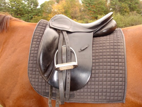 This is a Stubben Dressage Saddle