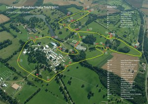 Burghley XC Course