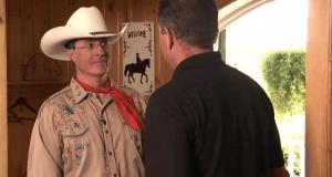 Stephen Colbert Dressage Training