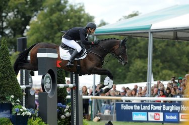 Josh Paget wins Burghley on  Clifton Promise.
