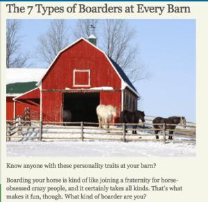 7 Types of  boarders