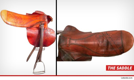 Seabiscuit's saddle