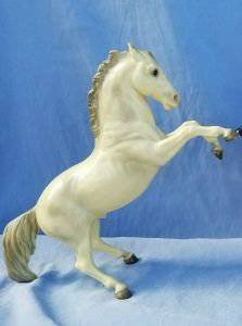 Breyer rearing horse