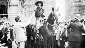 Nan Aspinwall arrives in New York