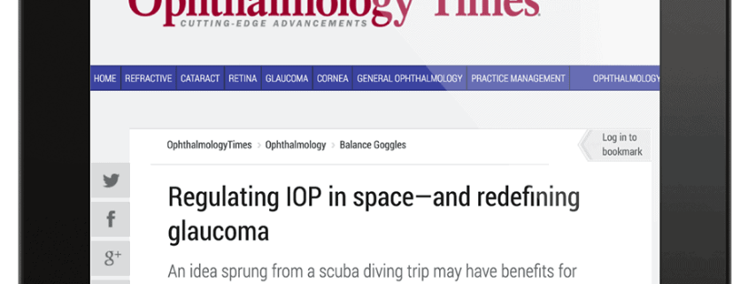 Press–OT-Regulatin IOP in space