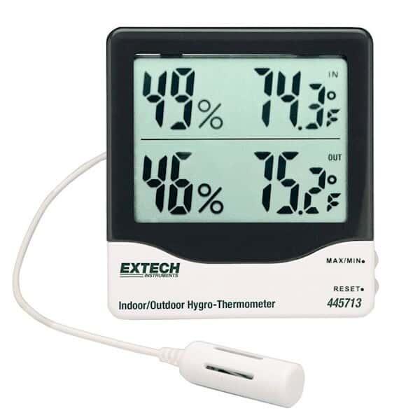 Termohigómetro de Dígitos Gandes Extech Image