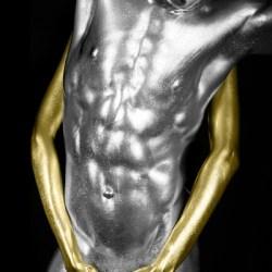 tinta pintura corporal metalizada