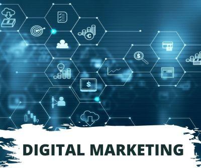 Digital marketing managed by a creative agency