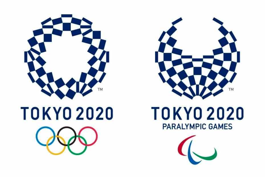 Tokyo Olympics logo. Credit NKBV @ Flickr