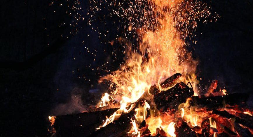 ash blaze bonfire burn, stable fires