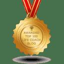Awarded Top 100 Life Coach Blog by Feedspot