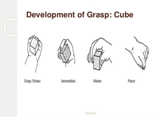 grasp development - HOLDING THE PENCIL - WHEN AND HOW?