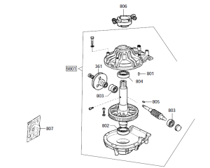 Parts Diagram for Chi A2000