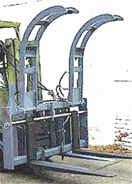 Single Arm Grapple Pallet Fork; 8,000 lbs. Capacity; 48 in