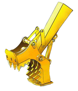 Concrete Crusher for Excavators 65,000 to 85,000 lbs - SLS-SECC-4