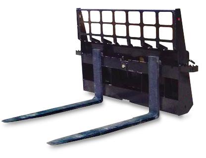 "4,000 lbs. Capacity Heavy Duty Pallet Fork for Skid Steers 48"" -SLS-SPF48"