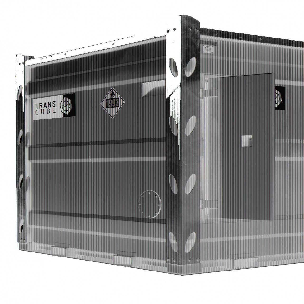 TransCube 2450 Gal. Double Wall Bulk Fuel Tank TCL100