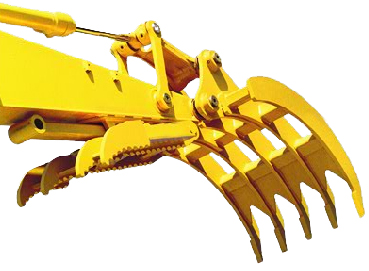 Excavator Rake for Machines 60,000 to 79,000 lbs.- SLS-SGR-4
