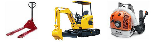 heavy equipment products