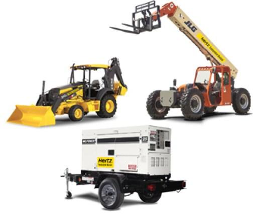 Rentals Equipment: Hertz Equipment Rental Services: Construction & Industrial