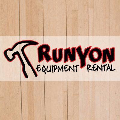 """runyon equipment rentals rental"""