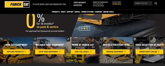 construction equipment rental missouri