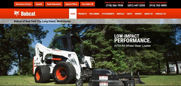 construction equipment rental new york