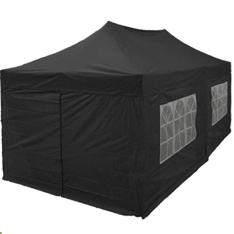 black tent