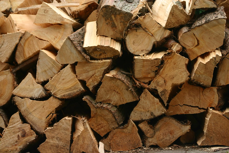 logs for fireplace