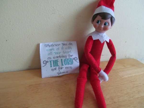 Can Do Things Elf Shelf