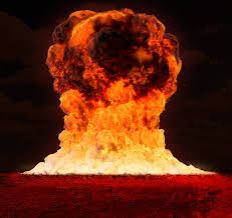 Nuclear Bomb Blast-color