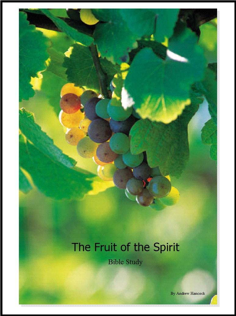 Fruit of the Spirit Cover