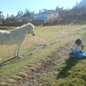 Girl and her pony 2012 Peru