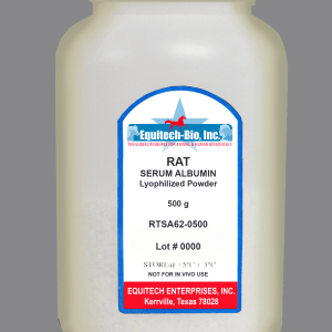 RTSA62 -- Rat Serum Albumin Lyophilized Powder