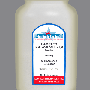SLHA56 -- Hamster IgG Lyophilized >= 97%