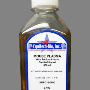 SMPC35 -- Sterile Filtered Mouse Plasma with Sodium Citrate