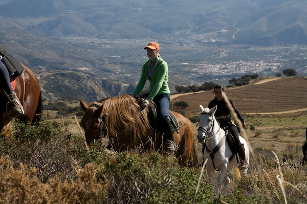 Alpujarras, Spain horse riding