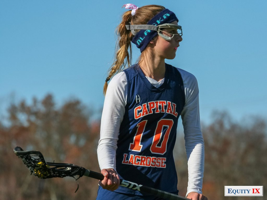 Early Recruit-2014 Girls Club Lacrosse - Capital - Lax4Cure - Equity IX - SportsOgram - Leigh Ernst Friestedt