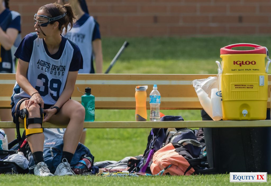 Agnes Irwin - 2015 Girls High School Lacrosse - Sports Injury -Early Recruiting © Equity IX - SportsOgram - Leigh Ernst Freistedt